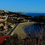 Plazhi i vogel, Mala plazha, Panorama