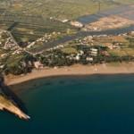 Kepi Gjerana, Plazhi i madh, Gryka Port Milena