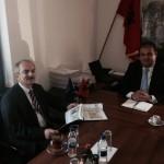 Foto nga takimi me Ambasadorin e Turqise ne MZ