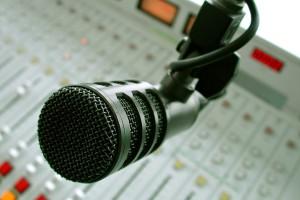 Mikrofon, Radio,