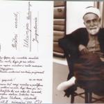Kartolina prej vitit 1936 - Hfz. Jusuf Cungu