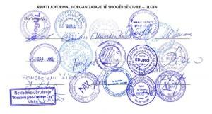 Rrjeti joformal i Organizatave te shoqerise civile