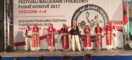 """Në Festivalin balkanik në Prishtinë: MIRËNJOHJE PËR SHKA """"ANA E MALIT"""""""