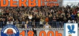 Basketboll: SONTE NË ULQIN DERBI I PJESËS SË PARË TË KAMPIONATIT