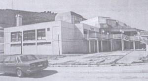 Shtëpia e shëndetit në lagjenë  Meraja (1975-1979) Sot : Qendra për kulturë