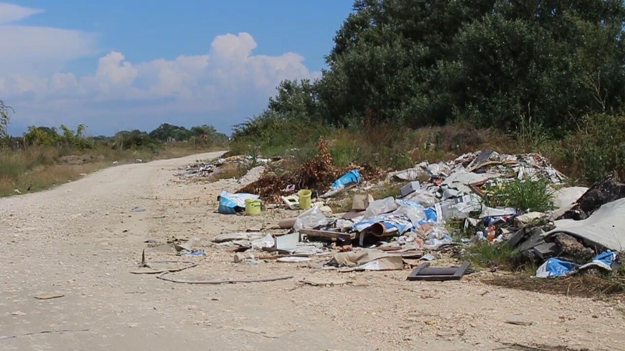 Mbeturinat, Otpad, Velika Plazha
