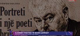 KTV: Gjurmet poetike të Basri Çapriqit