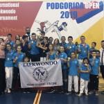 """Taekwondo: TRE TROFE PËR ULQINAKËT NË """"PODGORICA OPEN"""""""