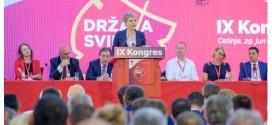 Kongresi i 9-të i PSD-së: EDHE ULQINAKËT NË UDHËHEQËSI TË PARTISË