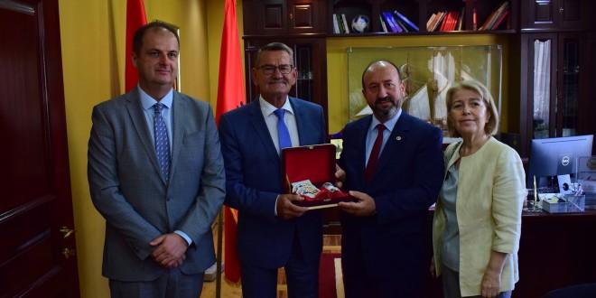 Komuna: Në Ulqin qëndroiDelegacioni i grupit të miqësisë së Kuvendittë Turqisë me Malin e Zi