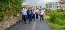 """Përfundoi rekostruimi i rrugës në lagjen """"Gjerana 1"""""""