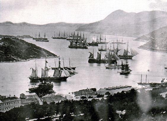 Brodovi u dubrovackoj luci